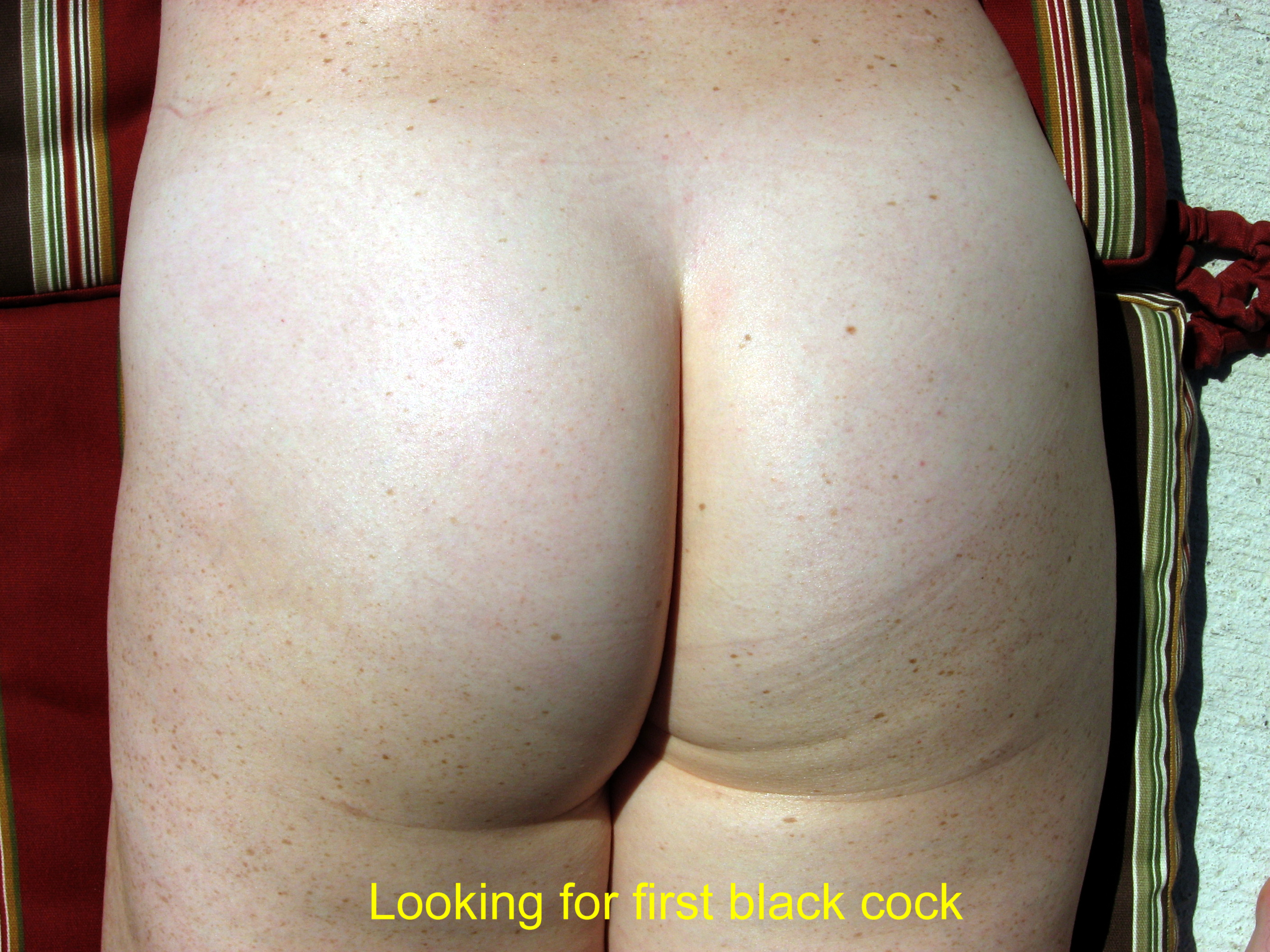 looking for first black cock
