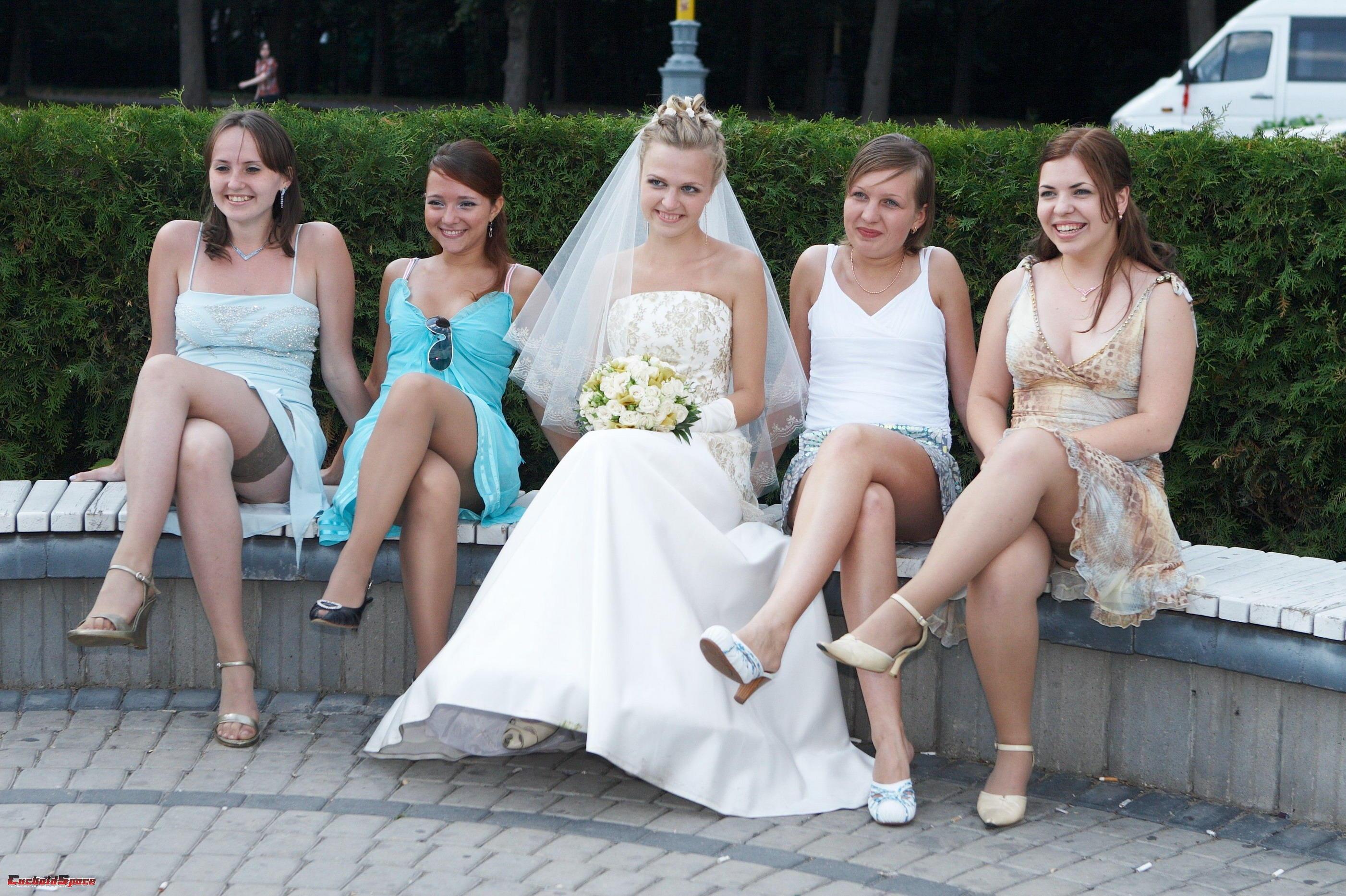Старые фотографии свадеб и невест (75 фото).