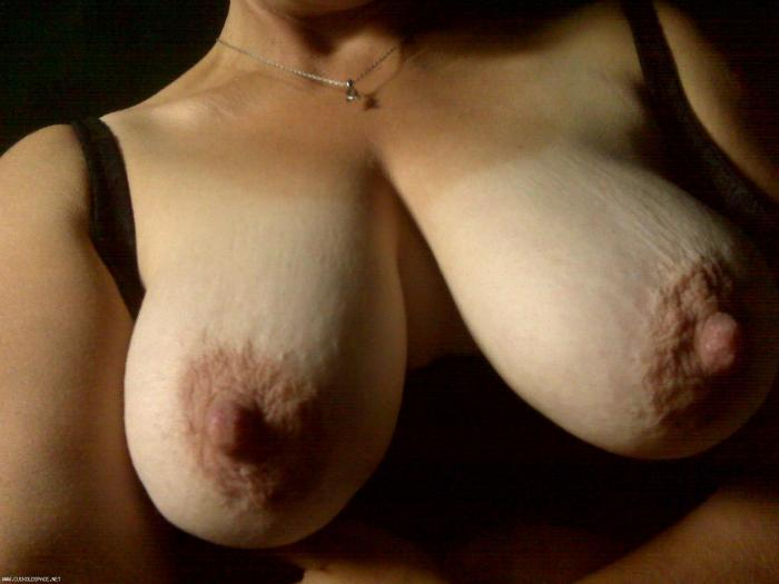Great Pic of A HOT WIFES TITS right before we got  busy