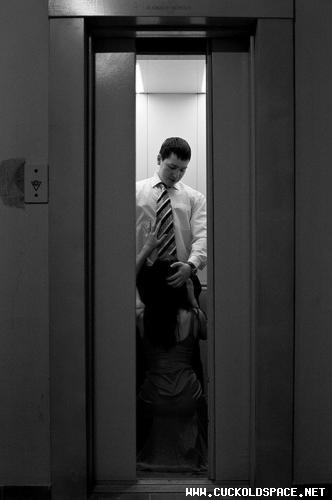 Порно секс фото в лифте